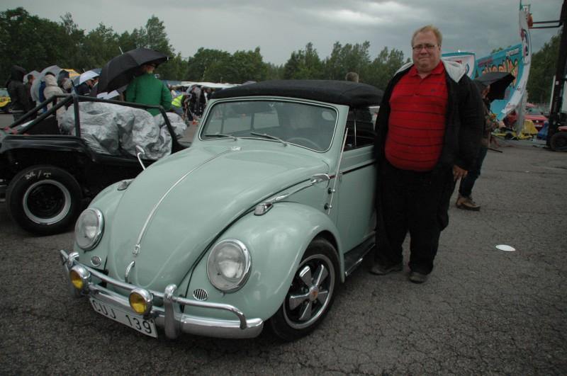 """CAL LOOK: Mattias Karlsson, Nybro. Typ 1 cab -58. """"Importerad vinnare!"""""""
